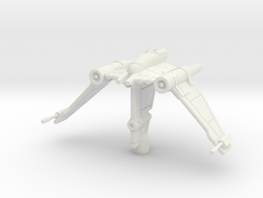 V-19 Torrent: 1/270 Scale: Variant 1 in White Natural Versatile Plastic