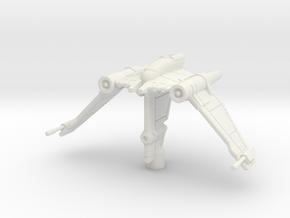 V-19 Torrent: 1/270 Scale: Variant 1 in White Natural Versatile Plastic