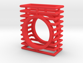 EXETER in Red Processed Versatile Plastic: 7 / 54