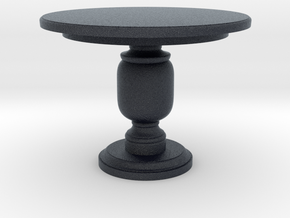 Miniature Leslie Center Table - Gramercy Home in Black PA12: 1:12