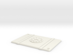 ZRD Fuel Cell Top in White Natural Versatile Plastic