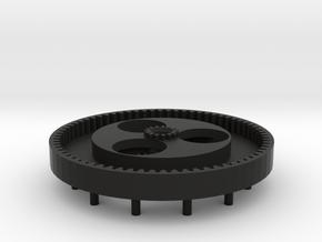 Fuba Antenna Black Gear  in Black Natural Versatile Plastic