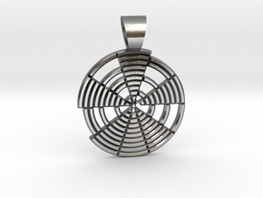 Prime's spiral [pendant] in Polished Silver