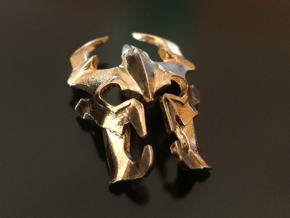 Dota 2 Shadow Fiend Pendant in Natural Brass