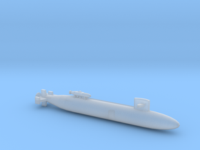 SSN-684 CAVALLA w/ DSRV 1:2400 FULL HULL in Smooth Fine Detail Plastic