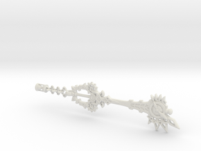 No Name KeyBlade - Keychain in White Natural Versatile Plastic