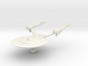Discovery time line USS Akyazi  Destroyer in White Natural Versatile Plastic