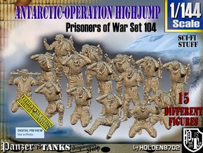 1/144 Antarctic Troops Set104 in Smooth Fine Detail Plastic