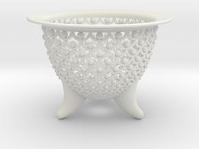 New Wave Neo Pot 3.5 in.  in White Natural Versatile Plastic