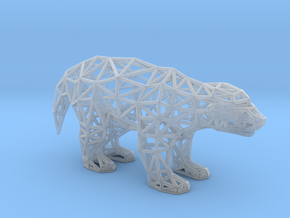 Ratel (adult) in Smooth Fine Detail Plastic