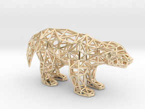 Ratel (adult) in 14K Yellow Gold