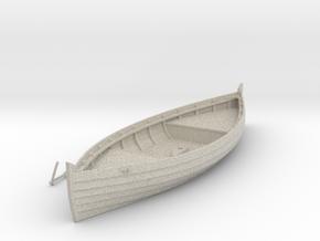 Medieval cargo ship, Knarr in Natural Sandstone