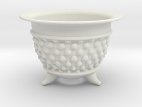Spotted Neo Pot 3.5in. in White Natural Versatile Plastic