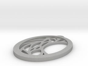 Meliae pendant in Aluminum: Small