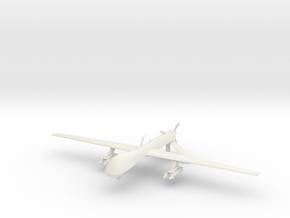 1/72 General Atomics MQ-1 Predator in White Natural Versatile Plastic