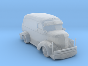 Jeepers Creeper Van v2 160 scale in Smooth Fine Detail Plastic
