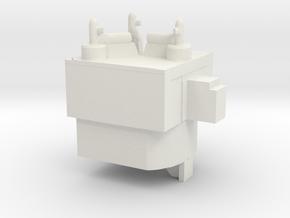 Flux Capacitor Matrix Core - Transformers PotP in White Natural Versatile Plastic