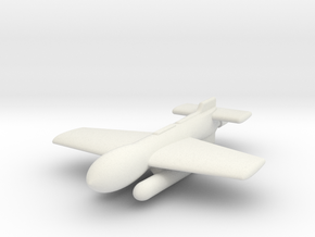 (1:144) Henschel Hs 295V in White Natural Versatile Plastic