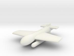 (1:144) Henschel Hs 295V in White Natural Versatile Plastic