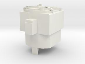 Proton Pack Matrix Core in White Natural Versatile Plastic
