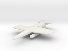 (1:144) Henschel Hs 294 A-0 in White Natural Versatile Plastic