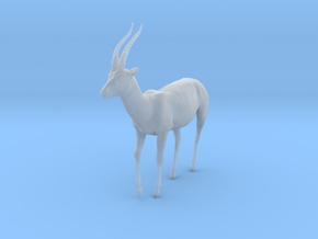 Thomson's Gazelle 1:9 Walking Male in Smooth Fine Detail Plastic