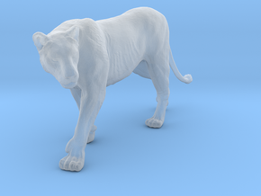 Lion 1:35 Walking Lioness 2 in Smooth Fine Detail Plastic