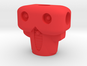 Acroyear II Torso in Red Processed Versatile Plastic