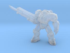Starcraft Terran Marine pose 1/2 in Smooth Fine Detail Plastic