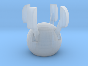 Acroyear II Claw in Smooth Fine Detail Plastic