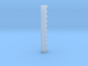 O2 knob B with sprue in Smooth Fine Detail Plastic