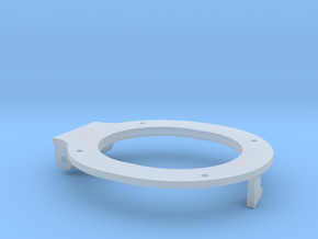 119 fire door ring in Smooth Fine Detail Plastic