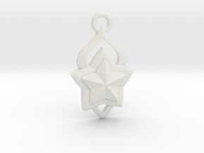 Star Guardian - Lux (Charm) in White Natural Versatile Plastic