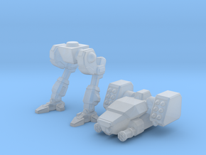 Terran Fast Attack Walker in Smooth Fine Detail Plastic