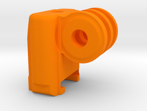 "NEODiVR ""poKet"" Adj Phone Bracket GoPro Mount (4 o in Orange Processed Versatile Plastic"