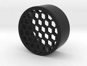 38mm honeycomb one piece in Black Natural Versatile Plastic
