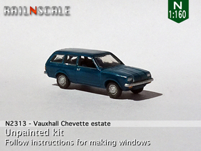 Vauxhall Chevette estate (N 1:160) in Smoothest Fine Detail Plastic