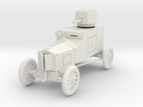 PV34 Ford TFC Armored Car (1/48) in White Natural Versatile Plastic
