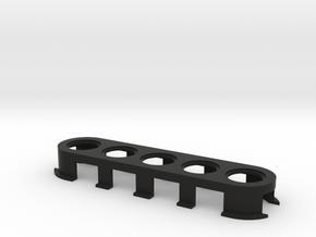 Lotus Elise Switchplate in Black Natural Versatile Plastic
