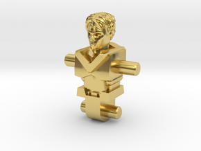 Pharoid (no helmet) Inchman Body in Polished Brass