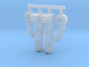 Inchnaut Inchman Limbs in Smooth Fine Detail Plastic