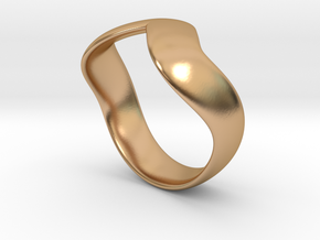 Kobra Ring Original 2 size 8,25 in Polished Bronze