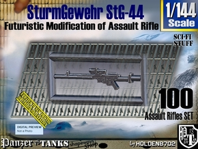 1/144 Sci-Fi StG 44 Set002 in Smoothest Fine Detail Plastic