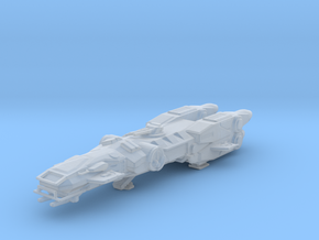 Arctis Class corvette / deep space vessel miniatur in Smooth Fine Detail Plastic