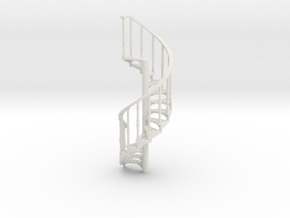 s-64-spiral-stairs-market-lh-1a in White Natural Versatile Plastic