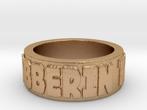 7.5 Clobberin Time Ring Size 7.5 in Natural Bronze