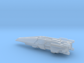 UNSC Halberd destroyer high detail in Smooth Fine Detail Plastic