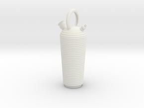 Botijo Largo in White Natural Versatile Plastic