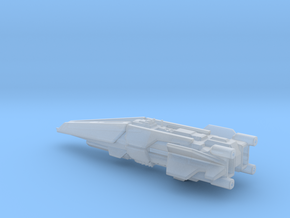 UNSC destroyer high detail /small ver. in Smooth Fine Detail Plastic