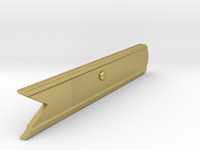 Signal Semaphore Blade (Fish Tail) 1:19 scale in Natural Brass